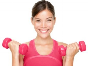 Sculpting Your Body Using Light Weights
