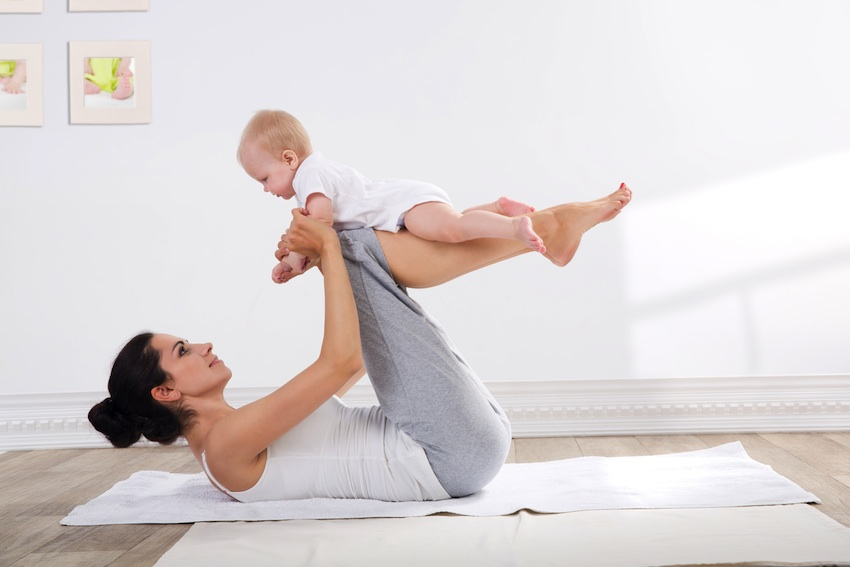 Pilates & Motherhood